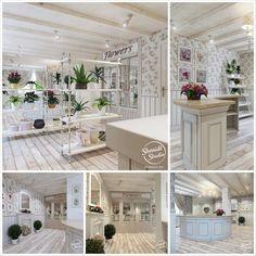 Интерьер цветочного магазина от студии Shmidt Studio | студия прованс интерьер