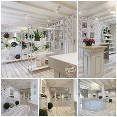Интерьер цветочного магазина от студии Shmidt Studio   студия прованс интерьер