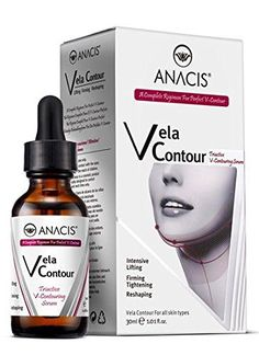 Neck Firming and Tightening Lifting V line Serum Chin contouring Reduce Appearance of Double Chin Loose and Sagging Skin Vela Contour 30 Ml ** Want additional info? Click on the image. (Note:Amazon affiliate link)
