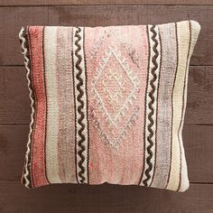 Turkish Kilim Pillow Cover Bohemian Pillow Cover by BohoTrunk, $80.00