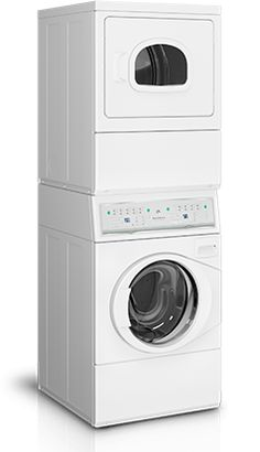 Need a top quality washer and dryer but lack the space?  Try this Speed Queen stack unit!