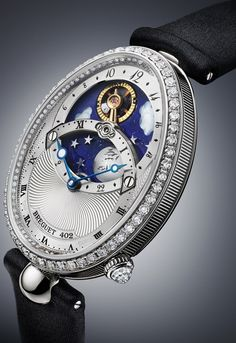 The Dance of the Sun and the Moon Shown on the Delicate Women's Watch by Breguet – Reine de Naples Day/Night 8998