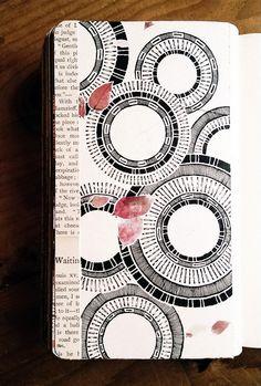Rebecca Blair Artwork Moleskine