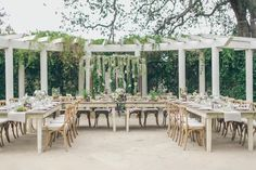 Photography : Laurie Wilson Of Gather West Photography   Design : Brides And Lauren Colley - Lavender Grey Events   Floral Design : The Little Branch   Wedding Venue : Orcutt Ranch Read More on SMP: http://www.stylemepretty.com/california-weddings/los-angeles/2014/12/19/rustic-summer-wedding-at-orcutt-ranch/