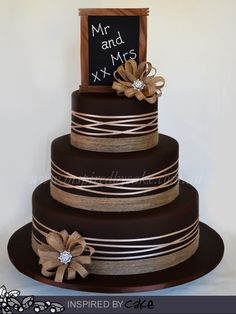 1000 images about wedding cakes on pinterest chocolate mud cake mud cake and mud. Black Bedroom Furniture Sets. Home Design Ideas