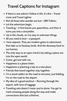 Travel Captions for - Julia Höhl - Nature travel Instagram Picture Quotes, Instagram Captions For Selfies, Ig Captions, Picture Captions, Bio Quotes, Selfie Quotes, Quotes To Live By, Inspirational Quotes, Travel Captions