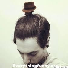 If you're riding the man-bun fun train then you're already ahead of the style game. Kick your bun up into the stratosphere with this tiny fedora designed to sit atop your stylish hair ball.