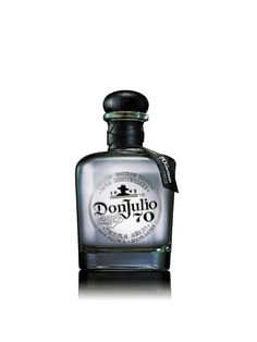 "#Tequila  ""Tequila Don Julio 70 Añejo Claro (SRP $70). The world's first clear añejo tequila, Tequila Don Julio 70 is a new innovation in the tequila category that filters Añejo tequila through a specialty process to restore the crisp agave flavor traditionally found in a Blanco. The result is a tequila that combines the signature flavors of a Blanco with the complex notes of wild honey, vanilla and toasted oak typical of a smooth Añejo for a unique hybrid that is clear in color."""