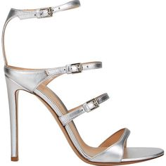 15befaec5538 Gianvito Rossi Women s Carey Triple-Strap Sandals ( 369) ❤ liked on  Polyvore featuring