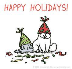 Joyeux Noël de Simon's cat !