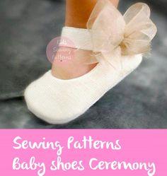 Zapato de bebé patrón de costura, zapatos de las muchachas, patrón de bebé, niños patrones pdf, patrón de zapatos de fiesta, patrón de las niñas, patrones de ropa niñas, BAUTISM