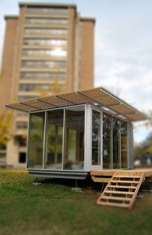The Zero House that UT Knoxville is working on. Zero net energy consumption and zero carbon emission technology, sustainable materials...be still my beating heart!