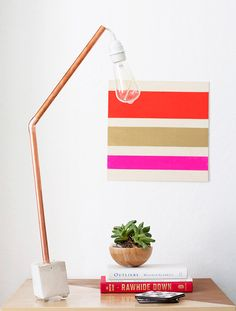 Break Out the Copper Pipes and DIY These 12 Hip Projects via Brit + Co.