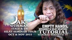 Prof Jak Italy & UK Silat Seminar Tour Oct - Nov 2015 Promo & Silat Weapons Tutorial - YouTube