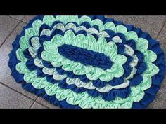 Tapete de Retalhos - How to make doormats using waste clothes - DIY doormats making idea-WOW - YouTube
