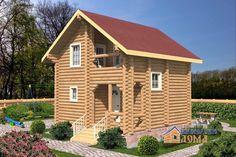Проект дома 6 x 6