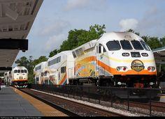 RailPictures.Net Photo: CFRC 104 Sunrail MPI MP32PH-Q at Lake Mary, Florida by Bob Pickering (BP)
