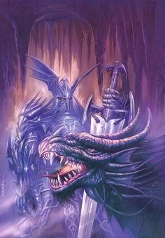 Dragon Knight by Jan Patrik Krasny