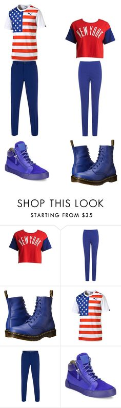 """""""Untitled #198"""" by kassidyrobinson on Polyvore featuring Chocoolate, Phase Eight, Dr. Martens, Puma, Paul Smith and Giuseppe Zanotti"""