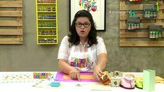 Ateliê na TV - Rede Vida - 20.02.2017 - Carla Moura e Bernadete Starke