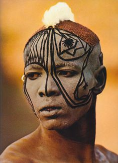 leni riefenstahl     nuba tribe photos