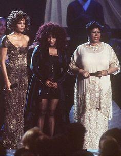 Brandy, CeCe Winans, Whitney Houston, Chaka Khan, Aretha Franklin and Mary J. Whitney Houston, Music Icon, Soul Music, Black Girls Rock, Black Girl Magic, Detroit Michigan, Black Celebrities, Celebs, Beverly Hills