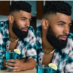 Fine Black Men, Gorgeous Black Men, Hot Black Guys, Handsome Black Men, Fine Men, Beautiful Men, Cornrow Hairstyles For Men, Black Men Hairstyles, Haircuts For Men