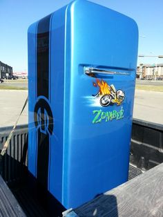 Super Cool Mopar Fridge