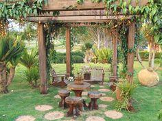 Fotos: Jardim de fazenda tem fontes, bromélias e cantos para relaxar -  - UOL Estilo de vida