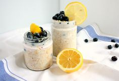 Do you wake up in the morning craving sweets? If so, I've got the the perfect breakfast for you! Blueberry lemon cheesecake overnight oats will start your day on a healthy and sweet note.