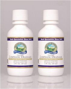 Naturessunshine Lymphatic Drainage Lymphatic System Support Liquid Herbs 2 fl.oz (Pack of 2) Nature's Sunshine,