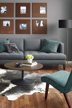 Vintage sophistication meets modern comfort in our Hutton sofa.