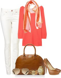 """Love the scarf ehh about everything else.""""Untitled #27"""" by partywithgatsby on Polyvore"""