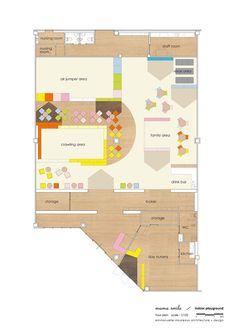 Mama Smile / Emmanuelle Moureaux Architecture + Design Floor Plan