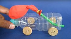evde basit oyuncak araba yapımı