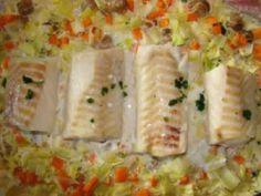 Cabillaud et légumes au cookeo