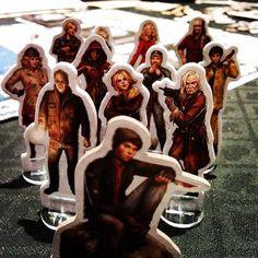 Heróis posers. #boardgames  #deadofwinter  #DeliDaPersy