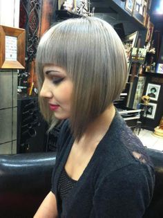 Love this colour and beautifully cut style...more guys should visit salons and experience the sheer delight of feminine styling