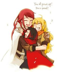 RWBY Ruby,Yang and Summer