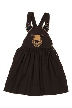 LU_FLUX_OLD_BELIEVER_BOO_BOO_DRESS_BROWN_WOOL_FRONT_TRANSPARENT