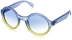 Marc by Marc Jacobs Womens MMJ475S NonPolarized Round Sunglasses Shade Blue Yellow  Azure Grad 51 mm ** You can get additional details at the image link.Note:It is affiliate link to Amazon.