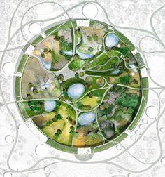Landscape Plaza, Landscape Architecture, Landscape Design Plans, Urban Landscape, Masterplan Architecture, Urban Design Diagram, Bird Aviary, Parking Design, Design Language