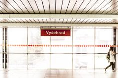 Vysehrad | metro station line C | Prague, Czech Republic | http://www.iconhotel.eu/cs/contact/how-to-find-us