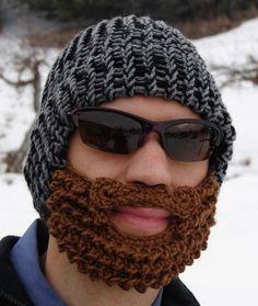 10 dollars hors - bonnet barbe de bûcheron - noir et gris
