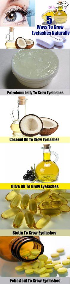 Grow Eyelashes Naturally