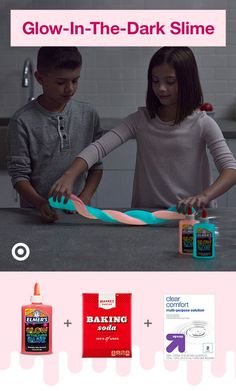 How To Make Slime : Target Get in on the fun with DIY slime recipes & videos for kids—unicorn, fluffy, glitter, glow & more. The post How To Make Slime : Target appeared first on DIY Crafts. Projects For Kids, Diy For Kids, Cool Kids, Galaxy Slime, Crafts To Do, Crafts For Kids, Easy Crafts, Diy Slime, Homemade Slime