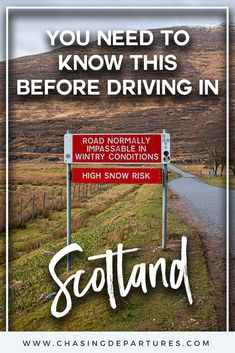 10 Tips for Driving in Scotland Driving in Scotland isnt as scary as you might think Remember to drive on the left and dont speed Keep an eye of for sheep and dont rent. Road Trip Uk, Road Trip Hacks, England And Scotland, Scotland Uk, Scotland Holidays, Smile And Wave, Bus Travel, Scotland Travel, Pranks