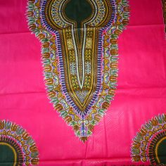 P1500534 Dressmaking Fabric, Dashiki, African Fabric, Crafty Projects, Hot Pink, Art Pieces, Wax, Traditional, Sewing