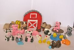 animals made with fondant icing - Google Search