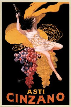 Leonetto Cappiello (Asti Cinzano) Art Poster Print Brand New Vintage Italian Posters, Pub Vintage, Vintage Advertising Posters, Vintage Advertisements, French Posters, Vintage Style, French Vintage, Vintage Food, Vintage Labels